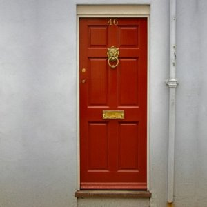 door with mortice lock